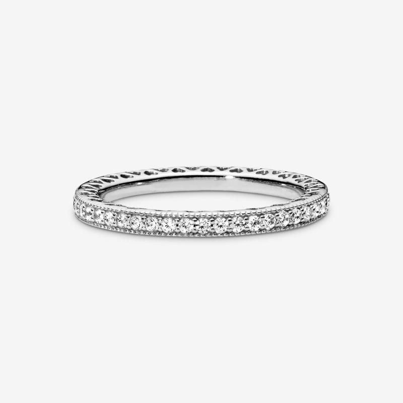 pandora anello zirconi