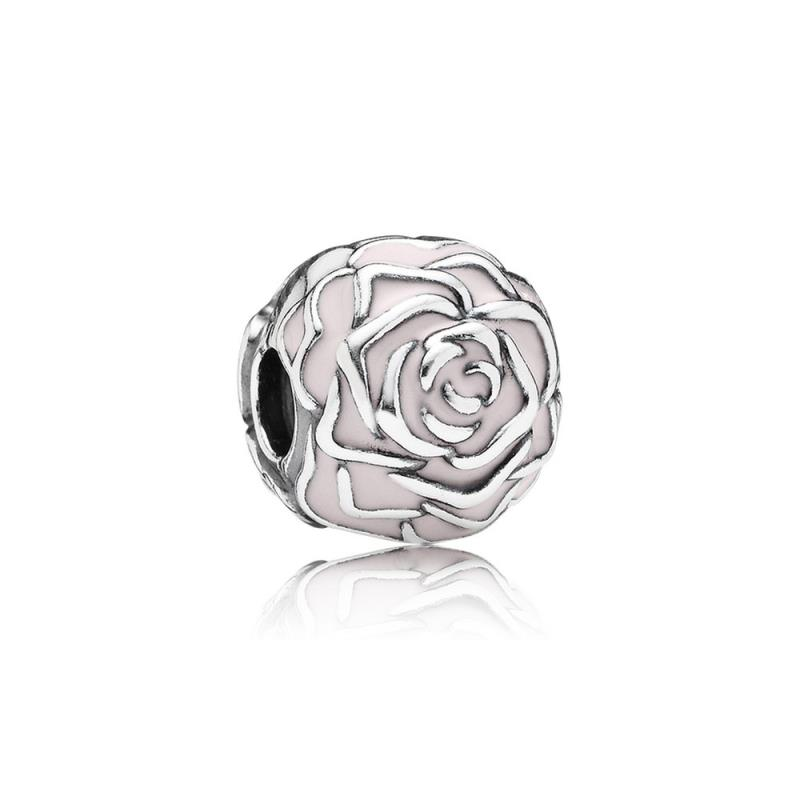 Pandora - Charms - Argento 925/1000 - Clip Rosa Smaltata ...