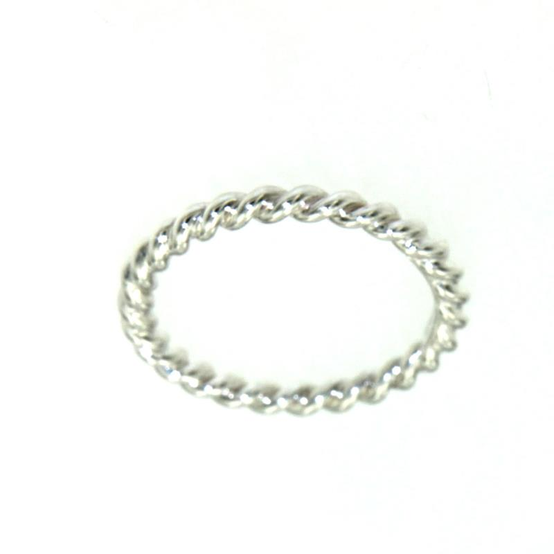 negozio online 480cc c6654 Tiffany & Co. Mini Anello Twist In Argento 925/1000 Mis ...