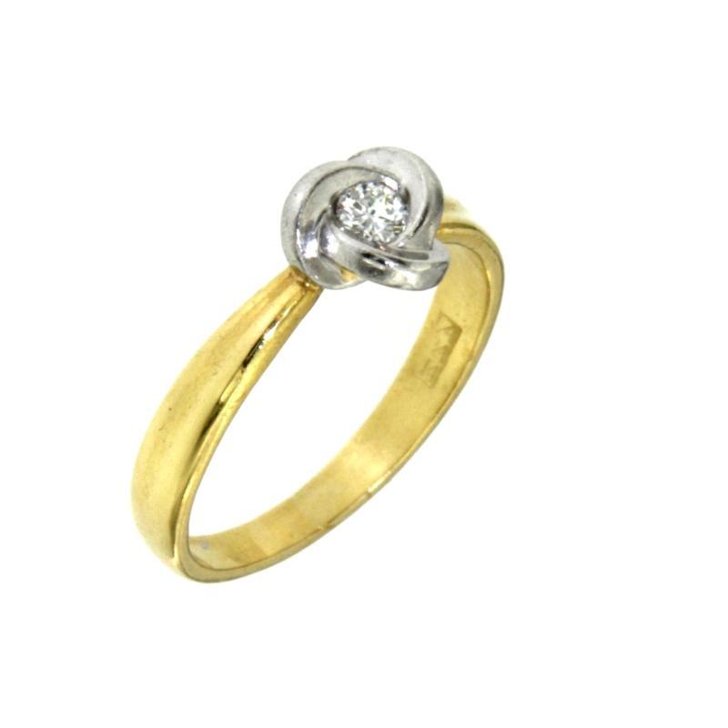 Outlet dei preziosi anello fascettina con diamante d for Decorazione provinciale francese con un budget