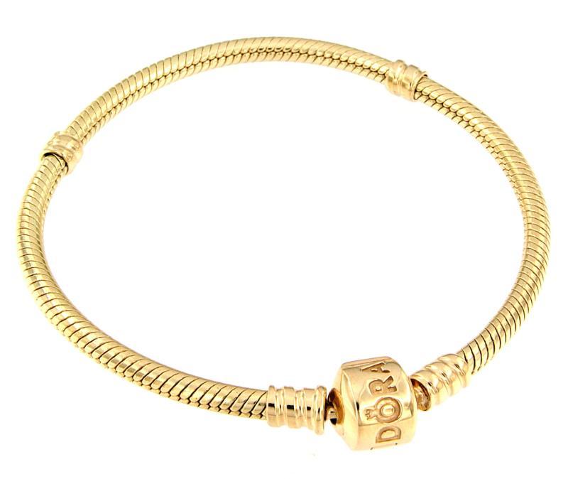 pandora bracciale oro