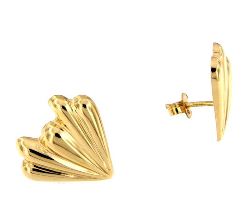 prezzi incredibili negozio outlet disponibile Coppia Orecchini Oro Giallo 750/1000 Tipo Ventagli Usato - Outlet ...